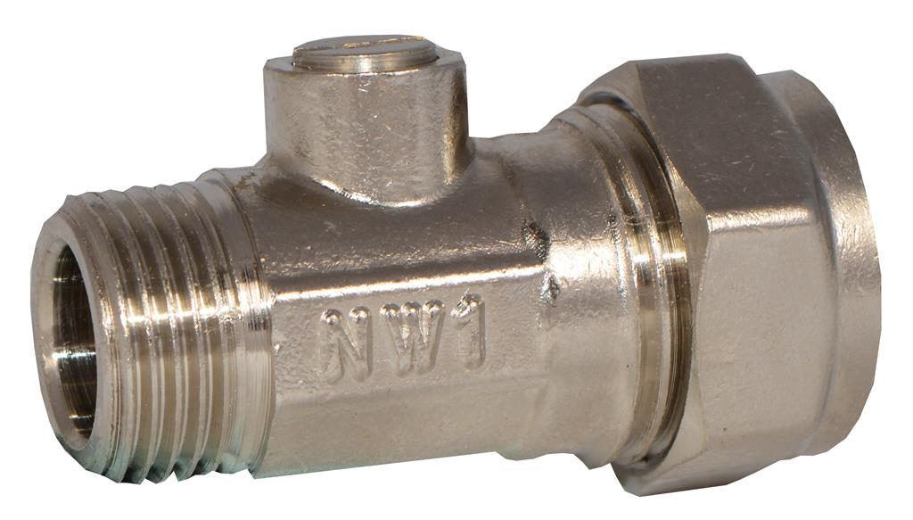 "15mm x 3/8"" FLAT FACED ISOLATING VALVE"