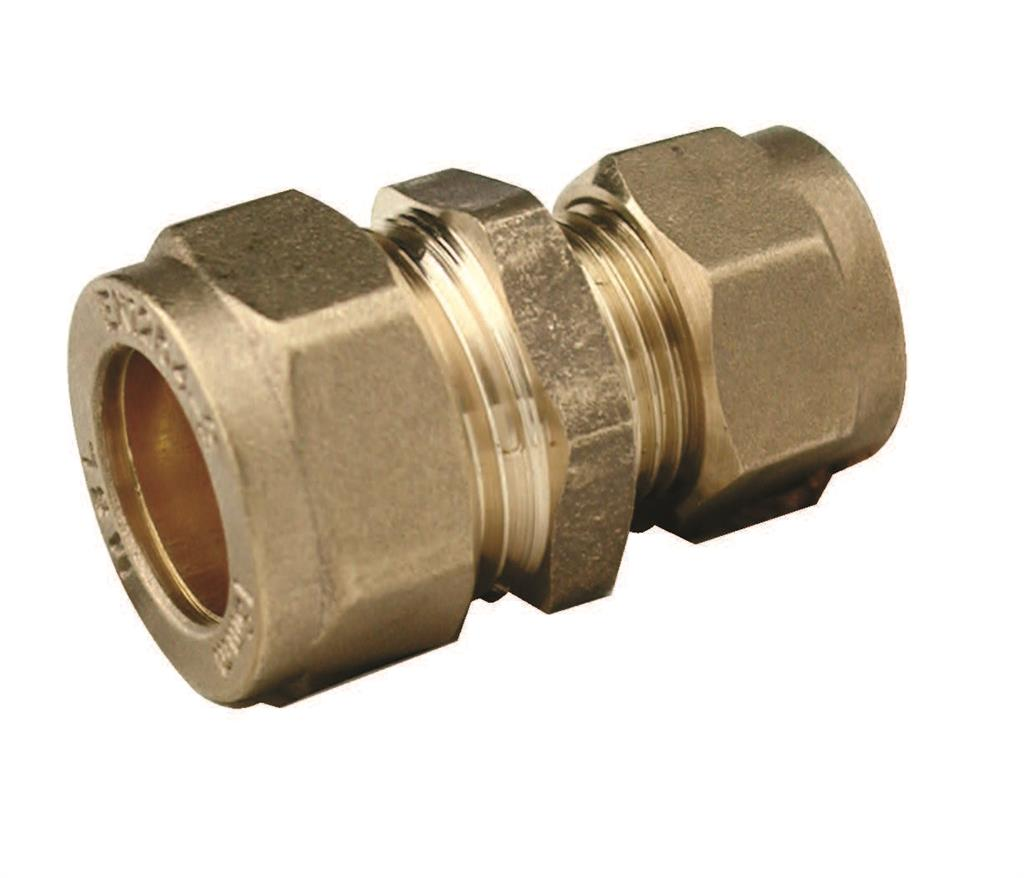 COMPRESSION 22mm x 15mm REDUCING COUPLING