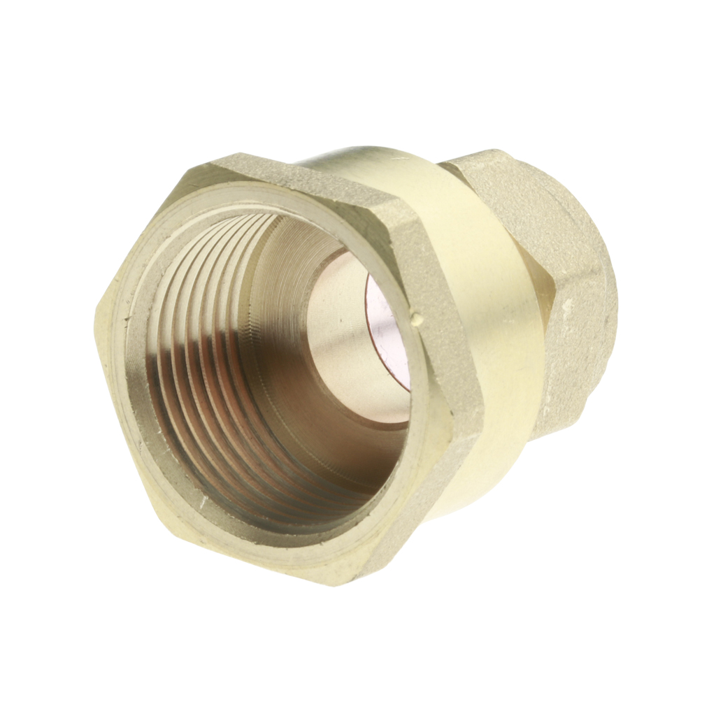 "COMPRESSION 10mm x 1/4"" STRAIGHT CONNECTOR FEMALE IRON"