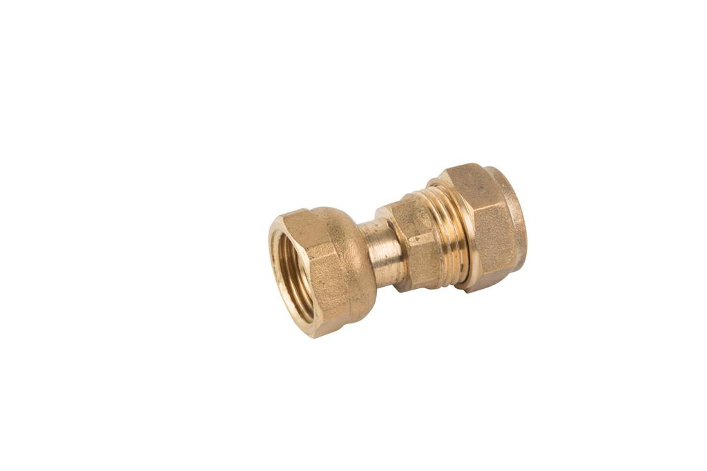 "COMPRESSION 15mm x 3/4"" STRAIGHT TAP CONNECTOR"