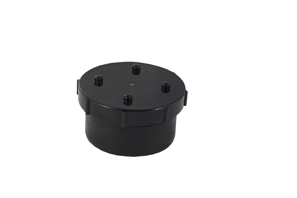 SOIL SOLVENT WELD 110MM ACCESS CAP BLACK