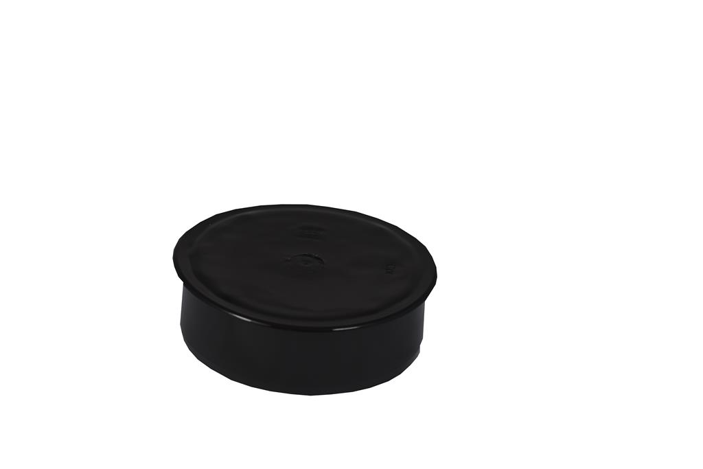 SOIL SOLVENT WELD 110MM SOCKET PLUG BLACK