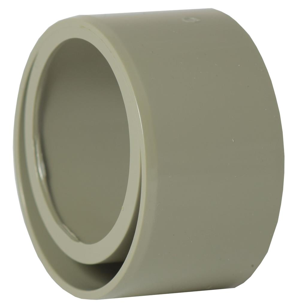 WASTE SOLVENT WELD 40mm x 32mm REDUCER GREY