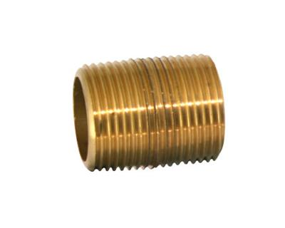 "1/8"" BRASS TAPER NIPPLE"