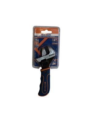 STUBBY ADJUSTABLE WRENCH - 6""