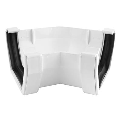 SQUARE LINE GUTTERING 135 DEGREE ANGLE WHITE
