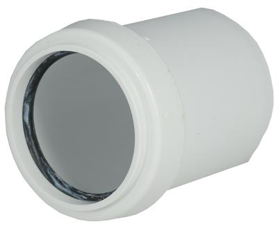 WASTE PUSH FIT 40mm x 32mm REDUCER WHITE