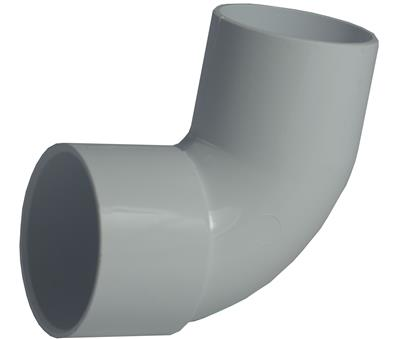 WASTE SOLVENT WELD 32mm 90 DEGREE CONVERSION BEND WHITE
