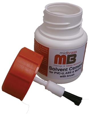WASTE SOLVENT WELD MIDBRASS CEMENT 250ml