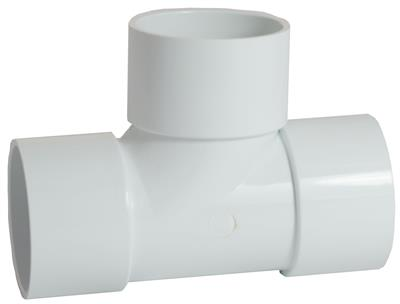 WASTE SOLVENT WELD 32mm 90 DEGREE TEE WHITE