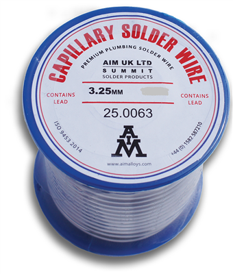 LEADED SOLDER WIRE 250g REEL