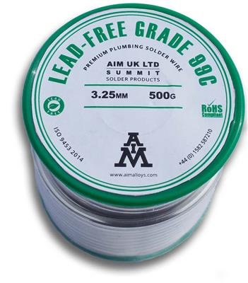 LEAD FREE SOLDER WIRE 500g REEL