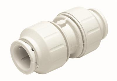 SPEEDFIT 22mm STRAIGHT CONNECTOR WHITE