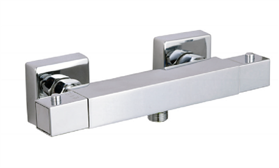 THERMOSTATIC MIXER BAR SQUARE SHOWER