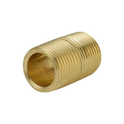 "THREADED BRASS 3/8"" TAPER NIPPLE"