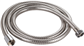 "2.50M (2500mm) x 1/2"" x 11mm LARGE BORE SHOWER HOSE CHROME"