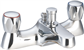 "IO RANGE 3/4"" BATH SHOWER MIXER"